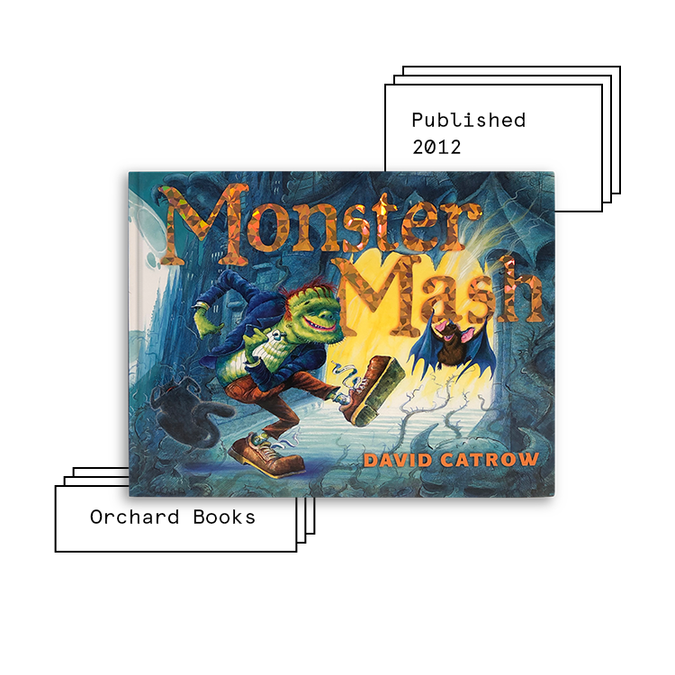 Monster Mash   Author: David Catrow Illustrator: David Catrow  Purchase Book:  Amazon ,  Barnes & Noble ,  Books A Million ,  Target ,  Walmart