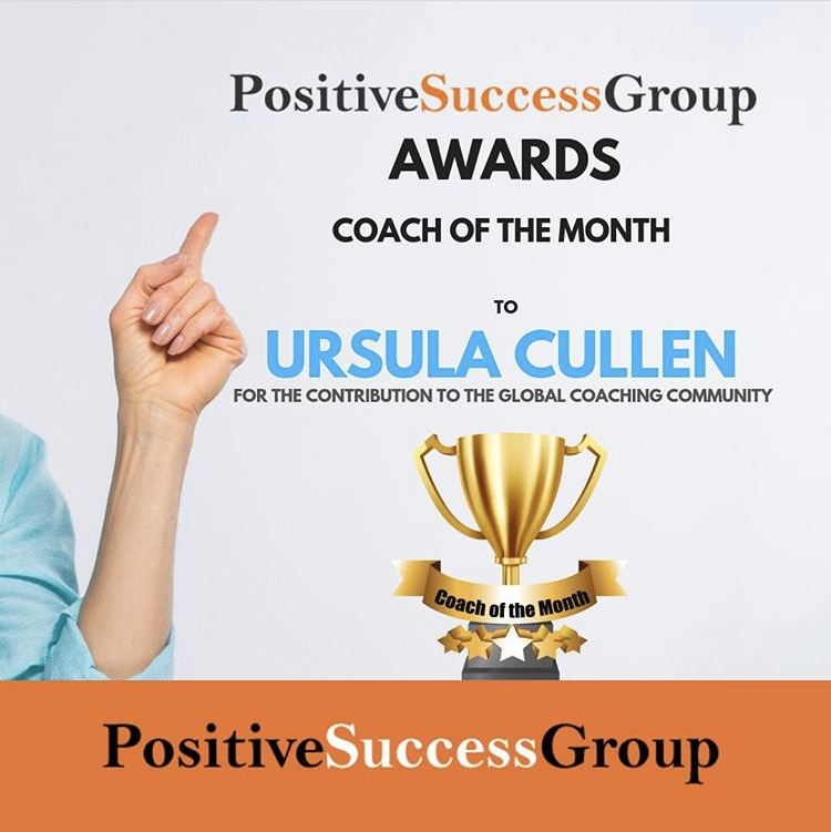 JUNE 2019 - Delighted to have been chosen as Coach of the month by the very well respected Positive Success Group for the contribution to the global coaching community! It is a great feeling to be recognised for something I am deeply passionate about and enjoy immensely. Thank you!!