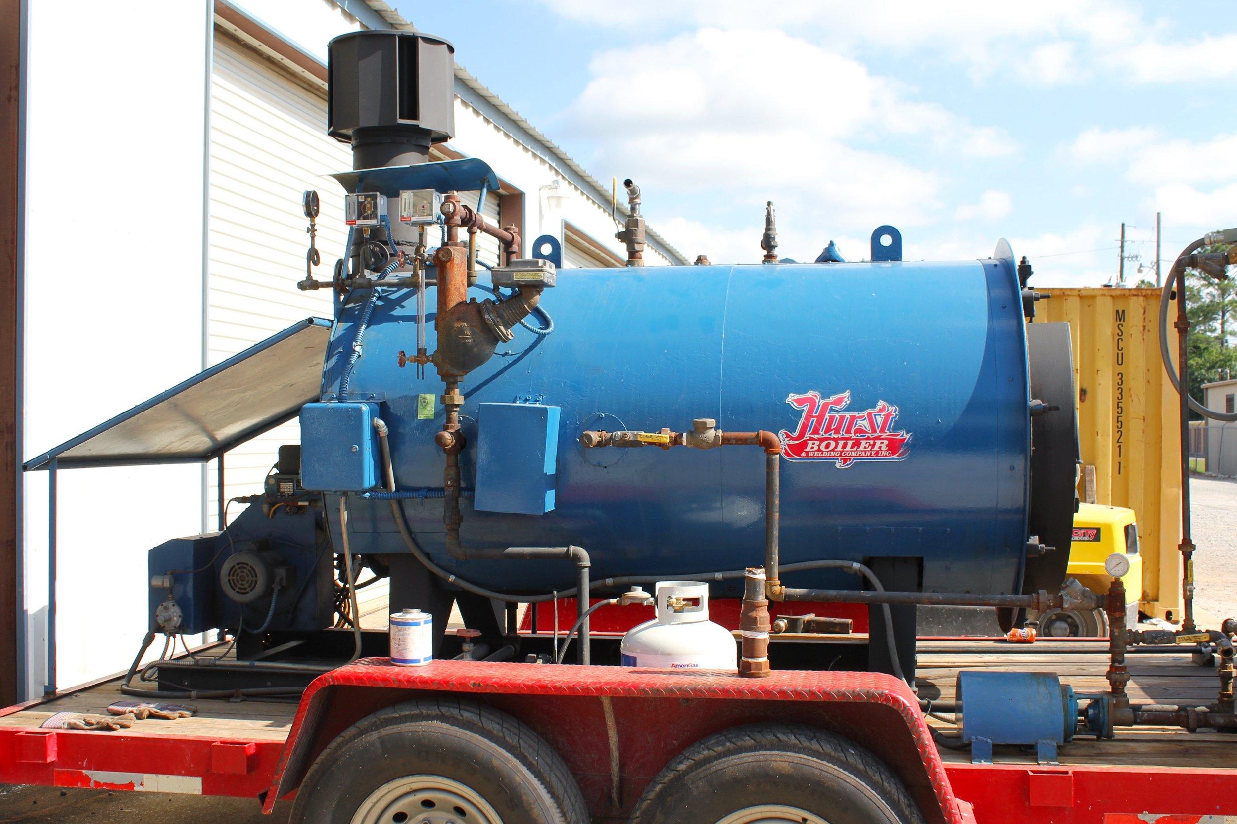 - 30 HP Hurst Firetube Scotch Marine Boiler