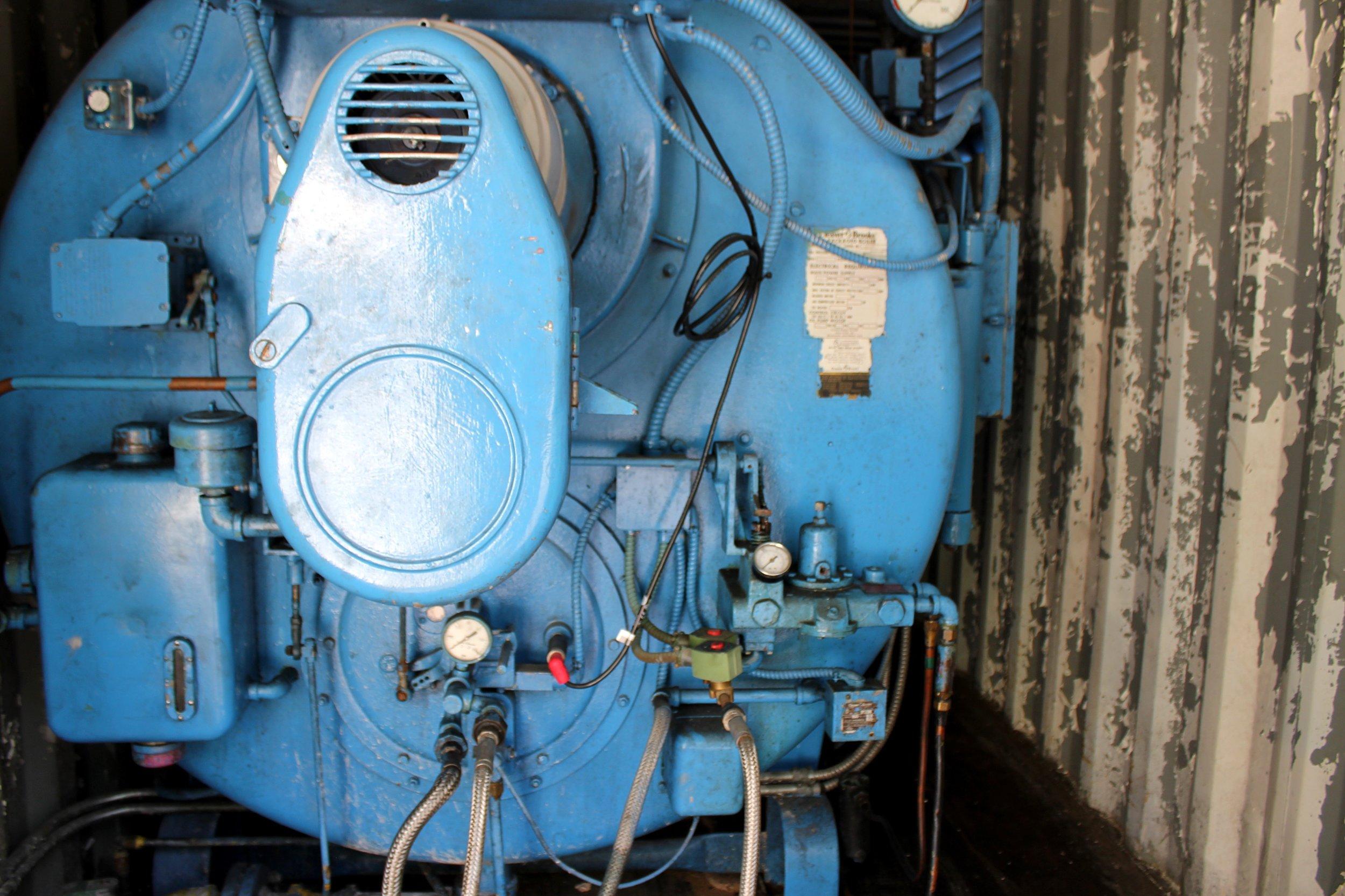 - 150HP Cleaver Brooks Scotch Marine Boiler