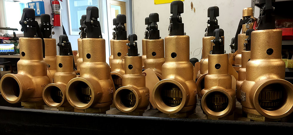 Relief Valves - Al Hill works with the best companies to offer materials for your boiler system and your relief valves:-Kunkle-Conbraco-Watts-Spirax Sarco