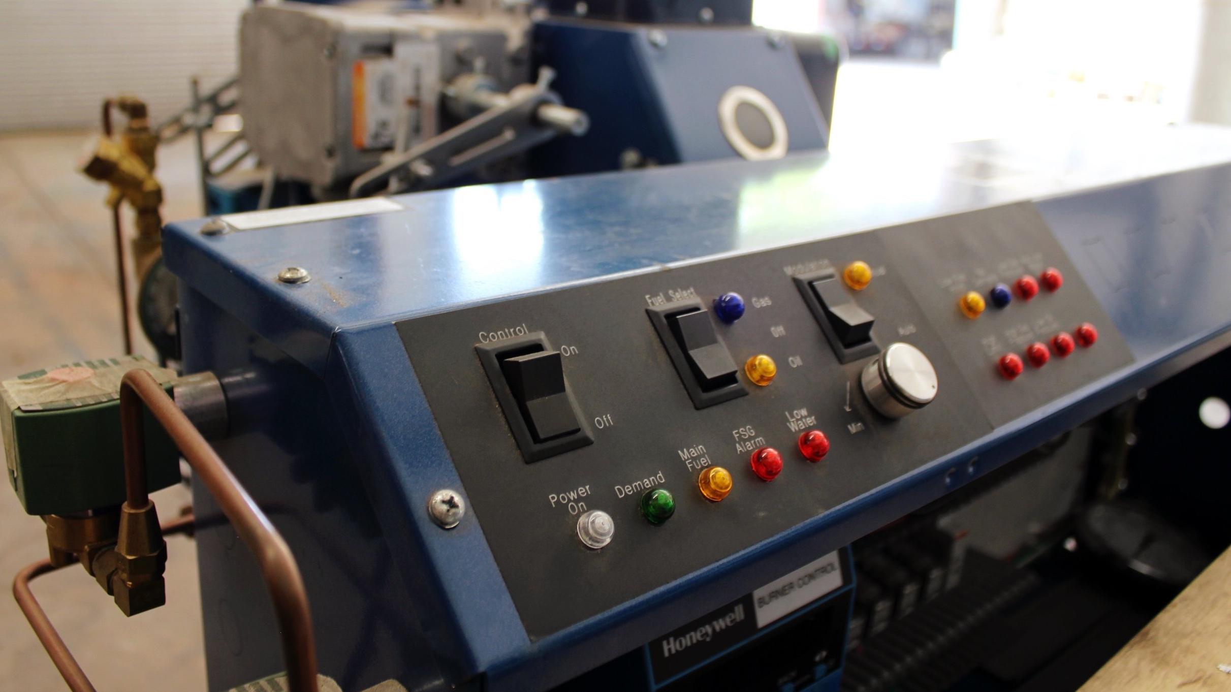 rental boilers -