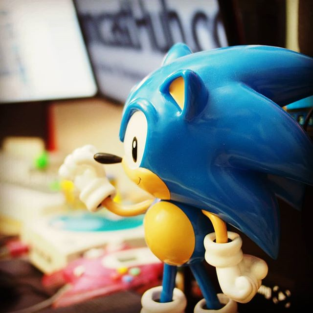 What #Sonic is SUPPOSED to look like! Thank you to @Sega and @ParamountPics for doing the right thing for the fans! So glad I can be excited again! #sonicmovie