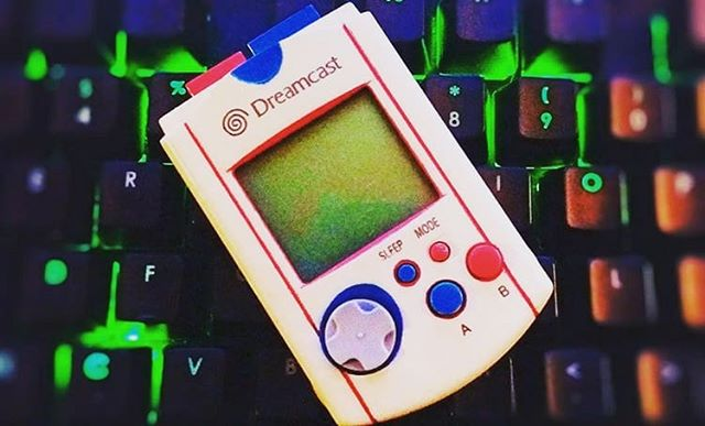 Still my favorite #Dreamcast VMU! Post your custom VMU here. I wanna see it!