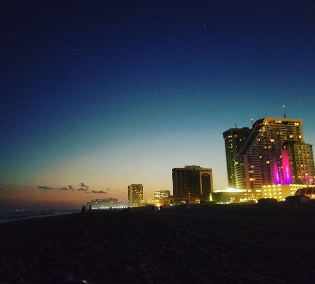 At #atlanticcity lookin nice at night.