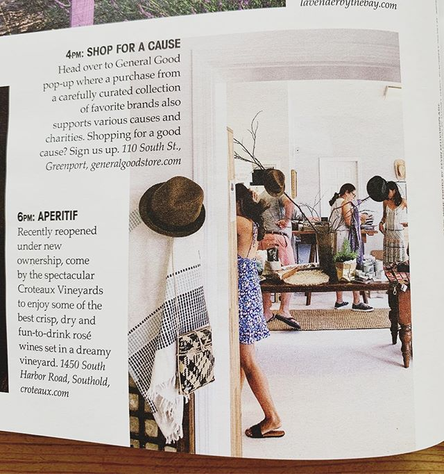 So thrilled to be featured in @hamptonsmag find us on page 38!!! :)