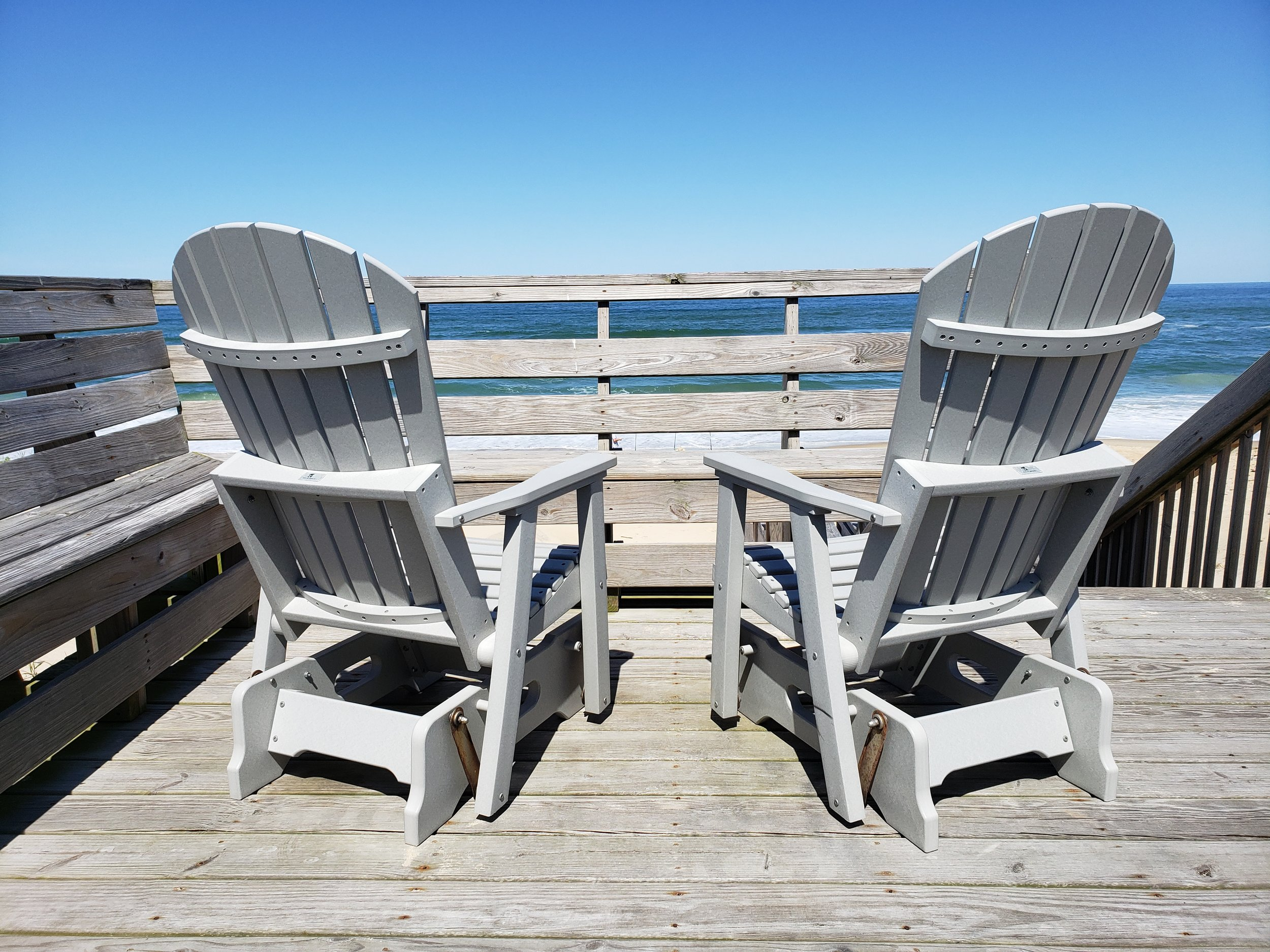 Enjoy all the Atlantic Ocean has to offer from our comfy chairs on the walkover