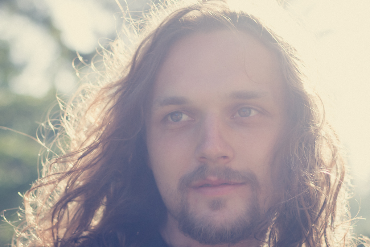 J.M. Long, Portland indie pop musician, dreaming up dreamy songs in the sunshine.