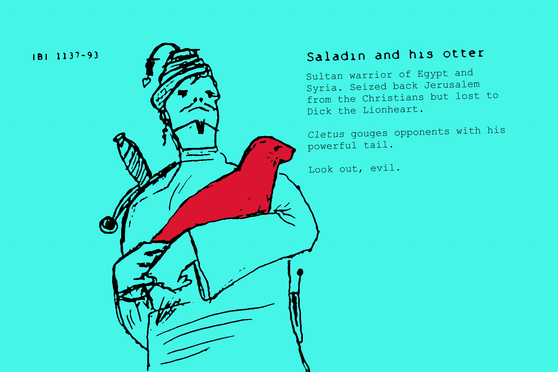 warriors and their pets_02 saladin.jpg