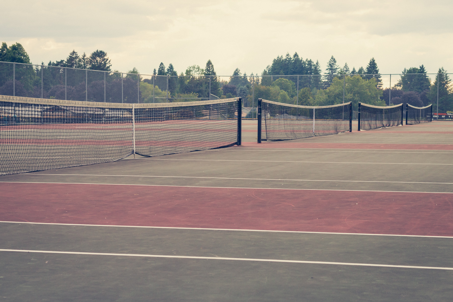 Washougal High tennis courts