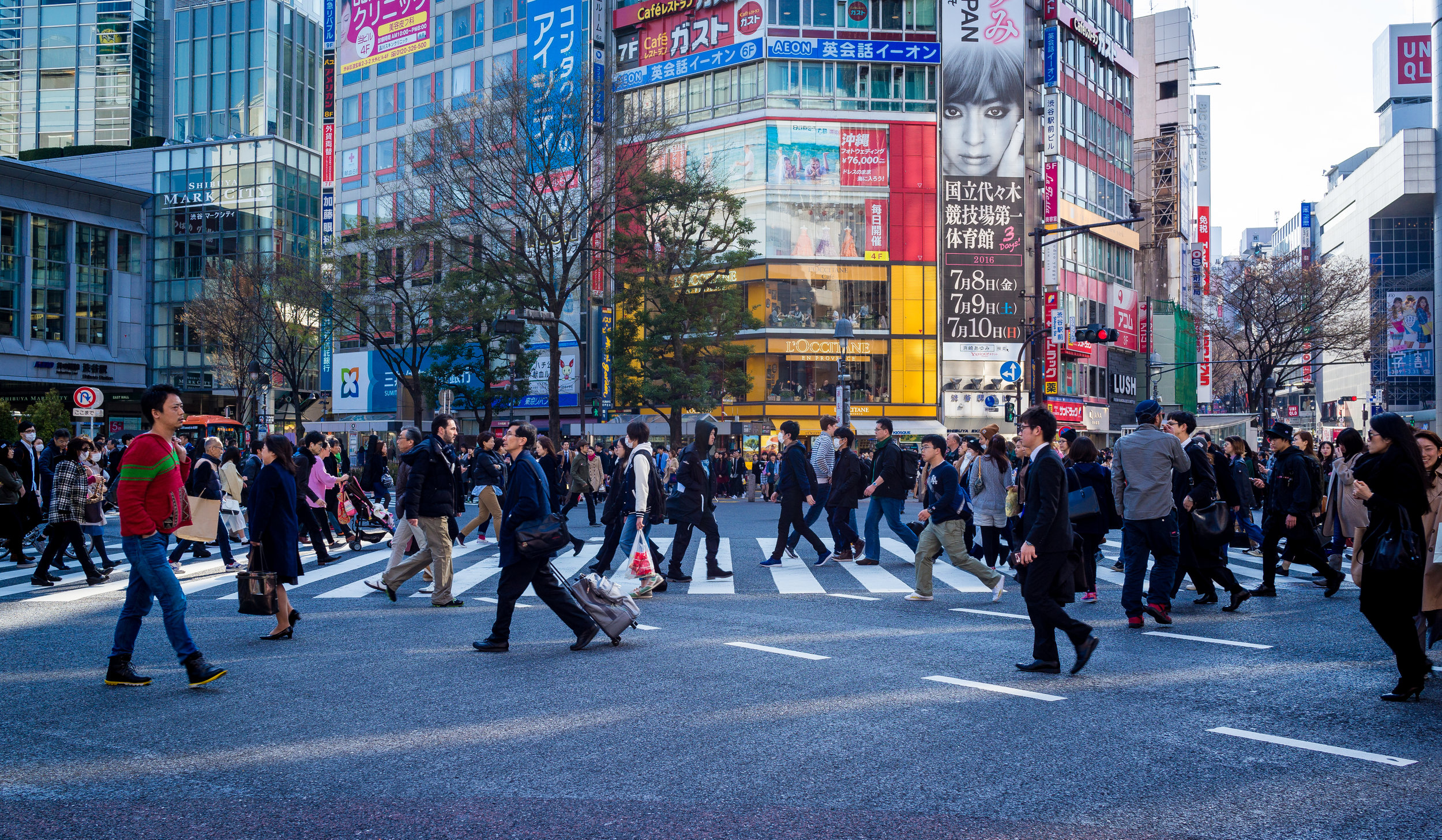 TRi Oracle Solutions Asia, Japanese city crowd
