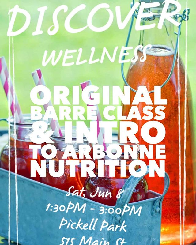 Join Arbonne Executive Regional Vice President Erin Falco (@efalco_wellness) and me for an afternoon in Pickell Park. Activities include an ORIGINAL technique demonstration (read participation) and an introduction to Arbonne's nutrition line. The event is free to attend. All proceeds from Arbonne purchases will be donated to One Simple Wish. Saturday from 1:30 to 3. Families welcome. Towels are recommended for the workout as some exercises will be on the ground.  #theORIGINALtechnique #arbonne #healthandwellness #nutrition #parkday #familyday #charityday #havefun #wewill #loveErin