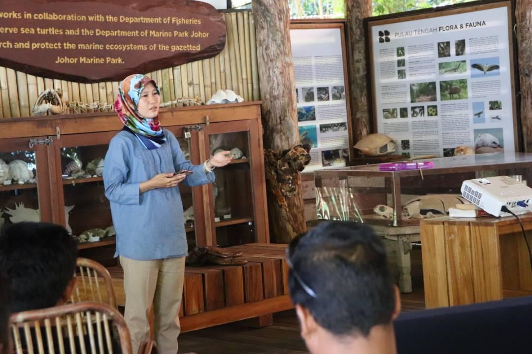 Marine Parks promoting conservation -