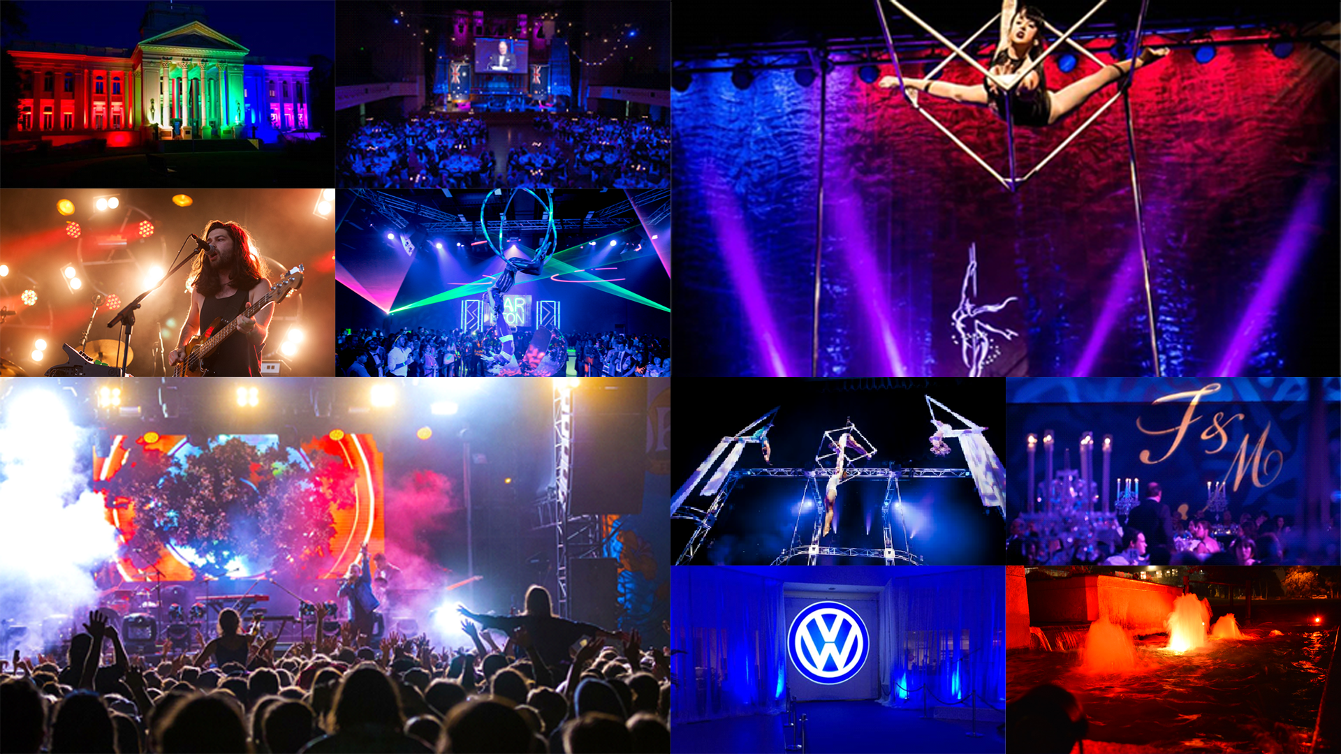 Our business combines high quality equipment, personalised service, and a wealth of experience to meet your event requirements. Whether it be rental of a single piece of equipment, or full design and implementation of a large show, SMOKESCREEN ILLUMINATION is - focused on meeting our customers requirements.
