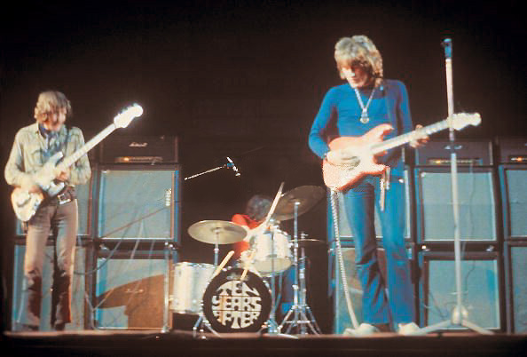 Ten Years After (From left: Leo Lyons, Ric Lee, Alvin Lee)