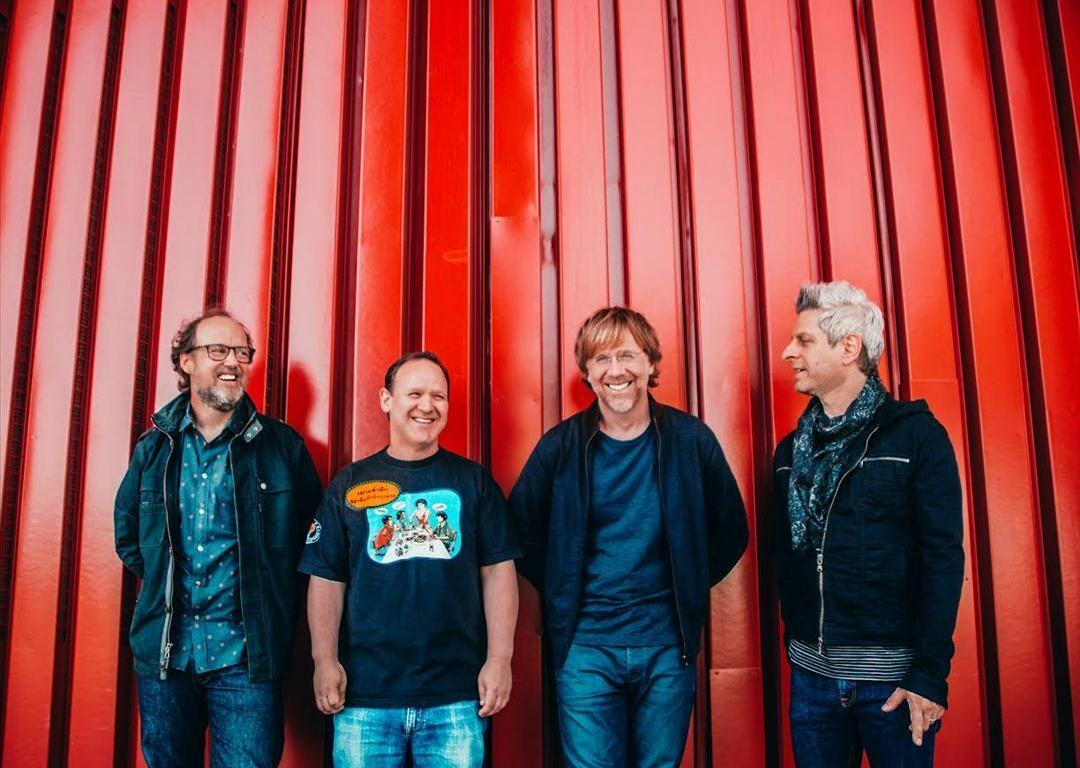 Phish donated $100,000 to local charities following the cancellation of their Curveball Festival in 2018.