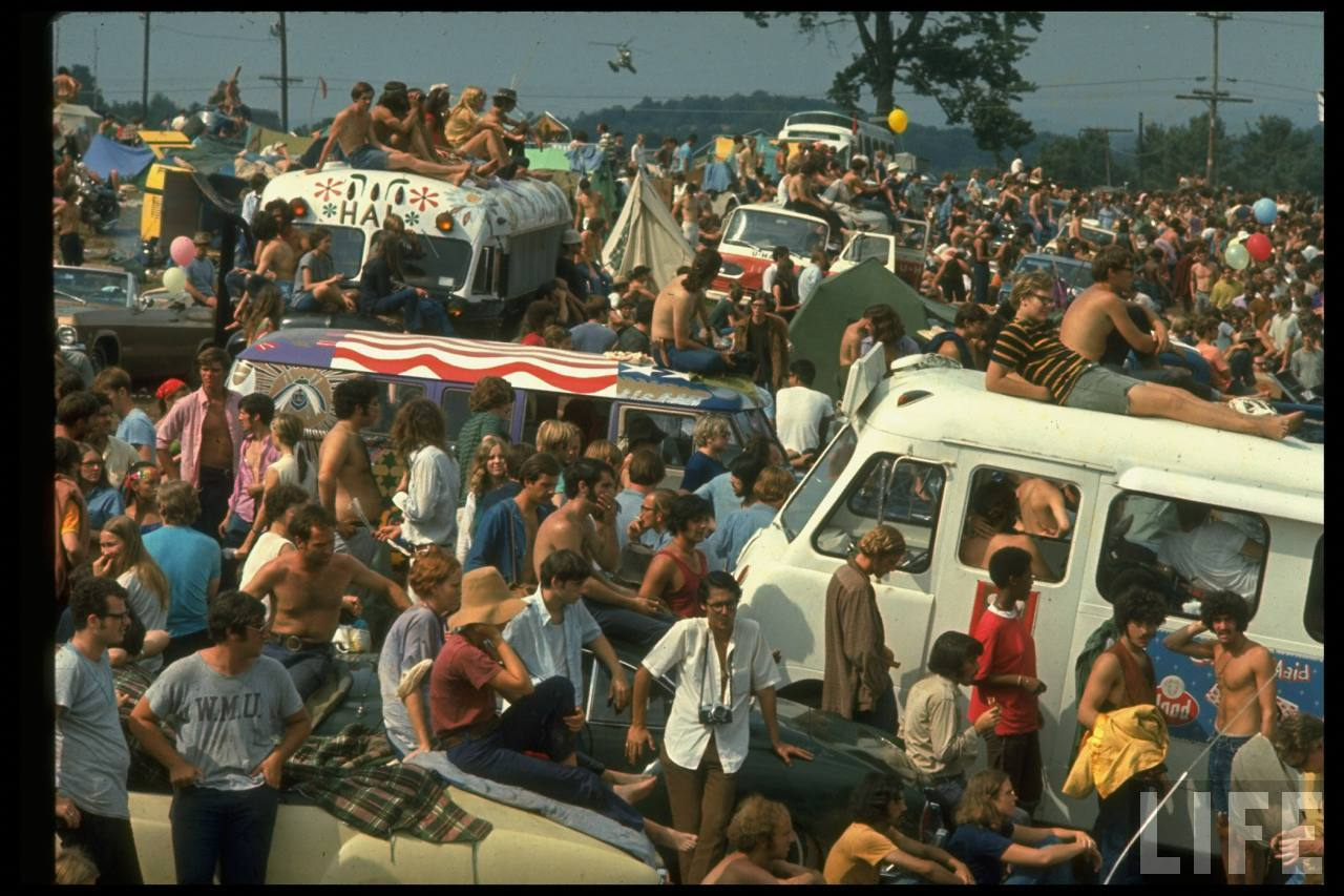 Woodstock 1969 ( The LIFE Picture Collection/Getty Images)