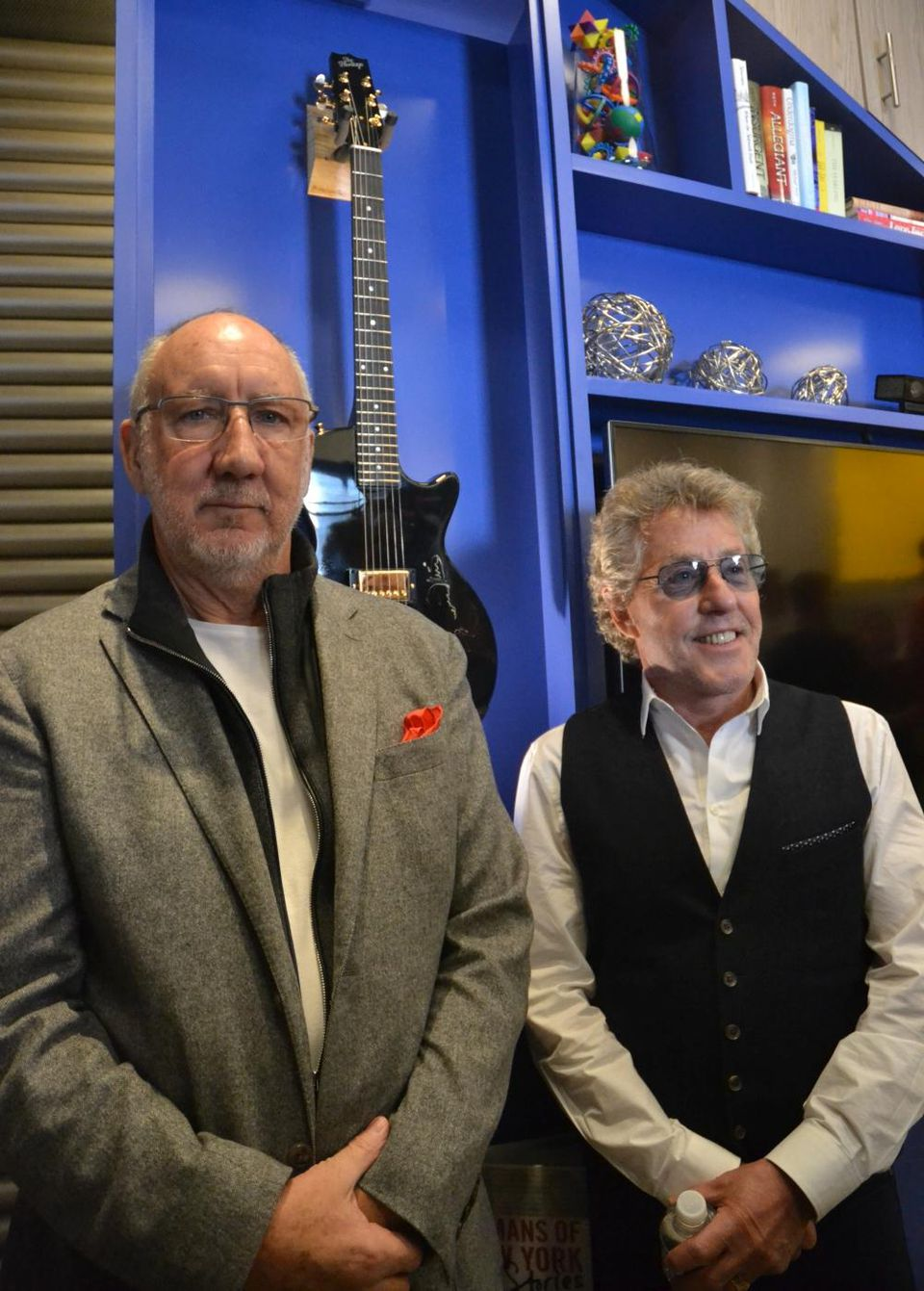 Teen Cancer America's Center at Memorial Sloan Kettering opened in 2016 with Pete Townshend and Roger Daltrey. (Photo: Stacey Severn)