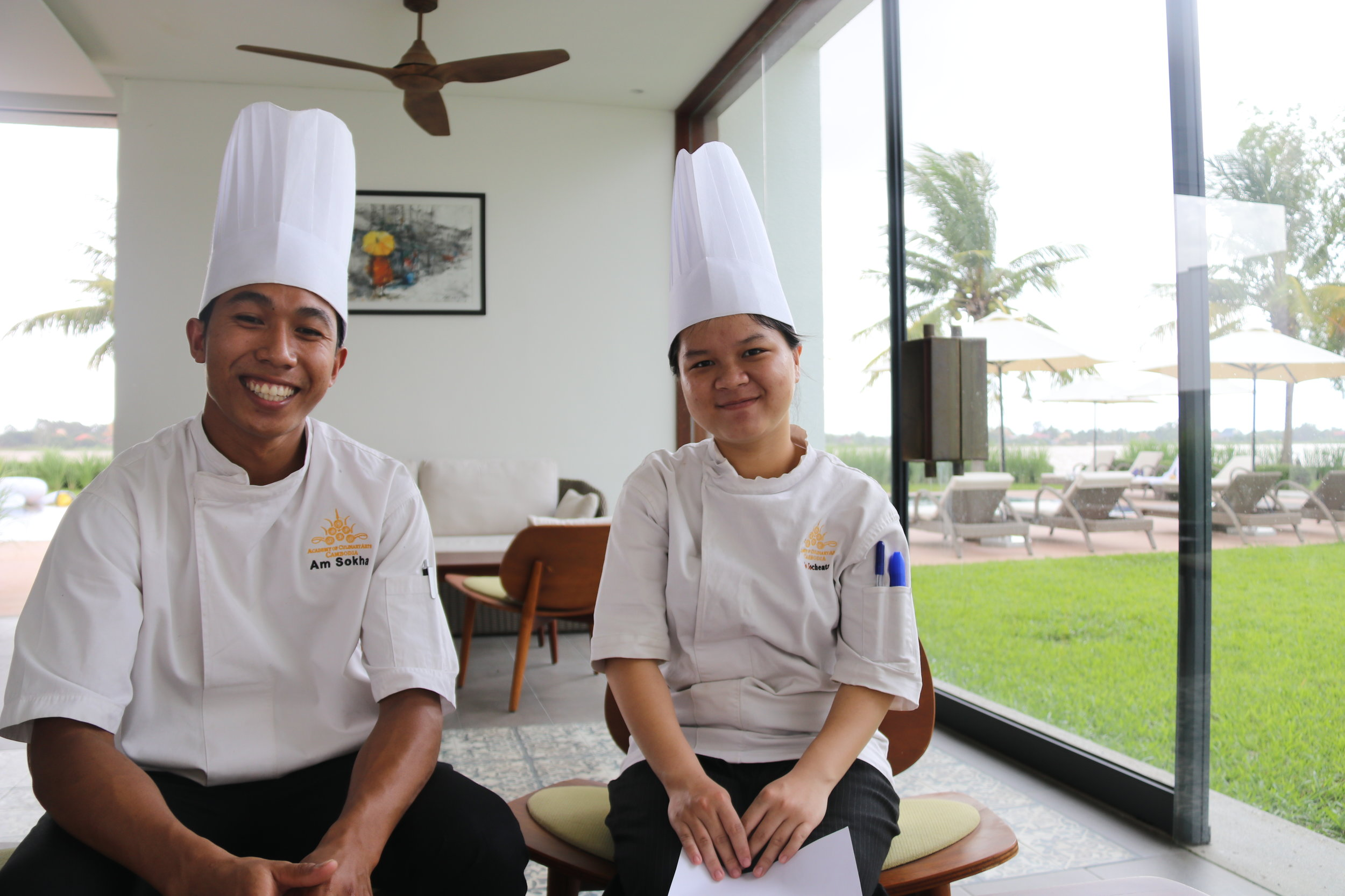 Our Scholars - The Naomi Tami Memorial Scholarship Fund, through Shift360 Foundation, honors the memory of Naomi Tami by providing scholarships for disadvantaged Cambodian youth to study at the Academy of Culinary Arts Cambodia.