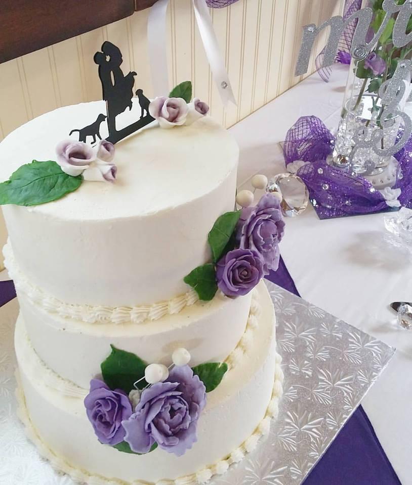 Purple rose wedding cake.jpg
