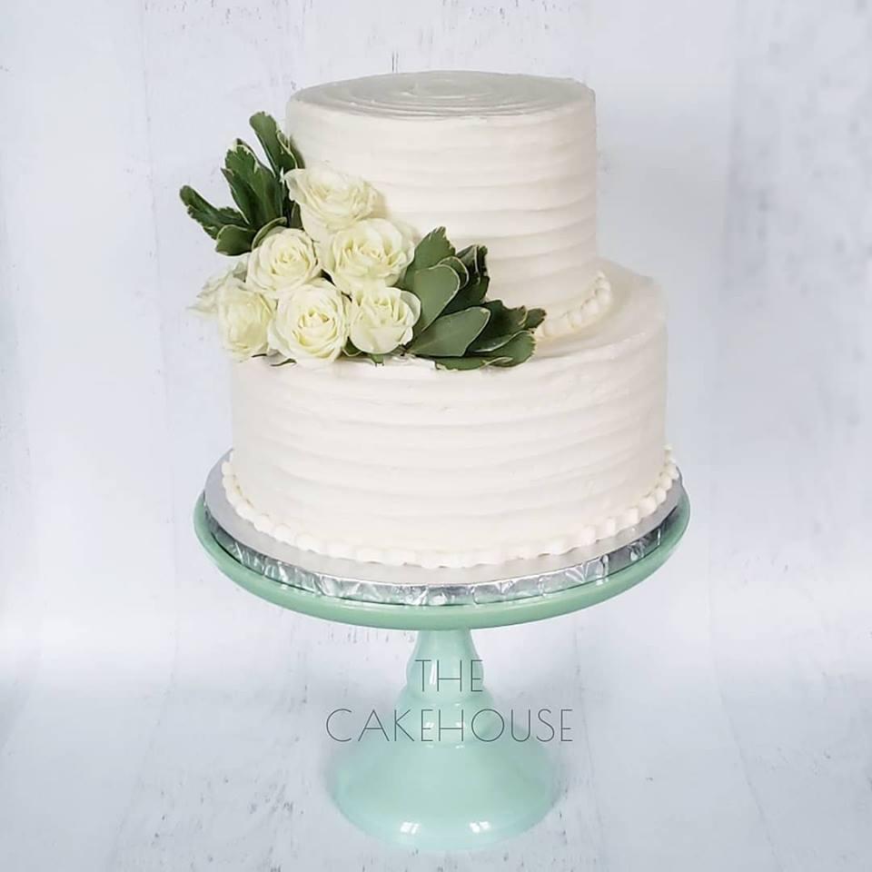 White Rose engagement Cake.jpg