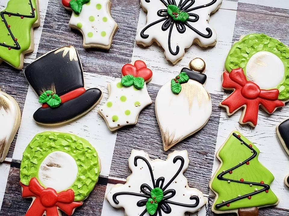 Lime Christmas cookie set.jpg