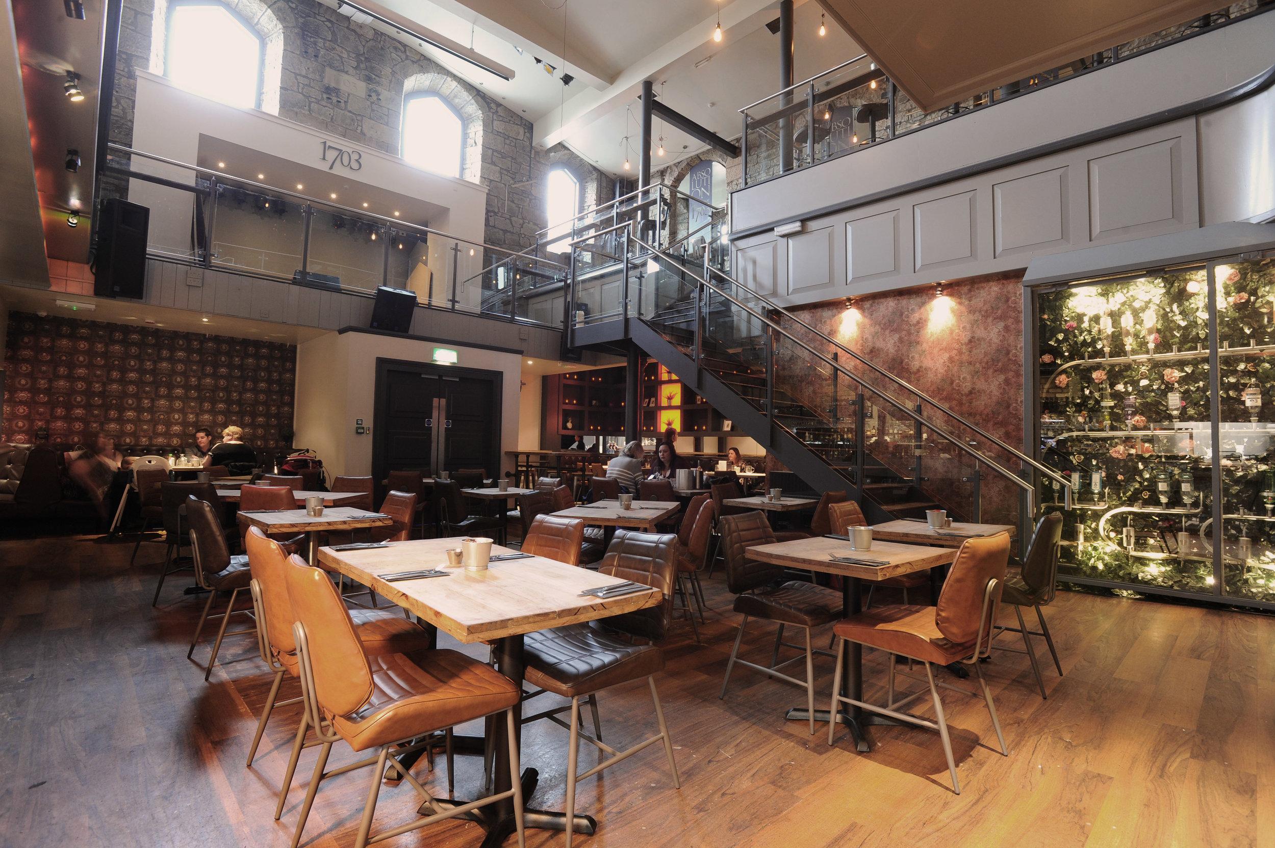 1703 dining area