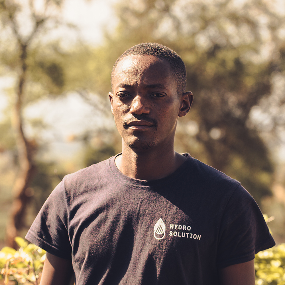 "Saitoti Msouri - ""It´s like a seed that they have planted on us. They were the best teachers we could ever met, so step by step we will do our best to make sure everyone is taking clean water"""