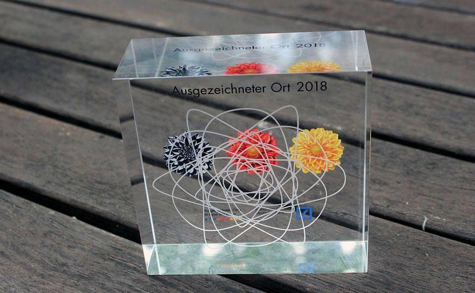 - 22.06.2018 Auszeichnung zum Ausgewählten Ort in Deutschland – Land der Ideen