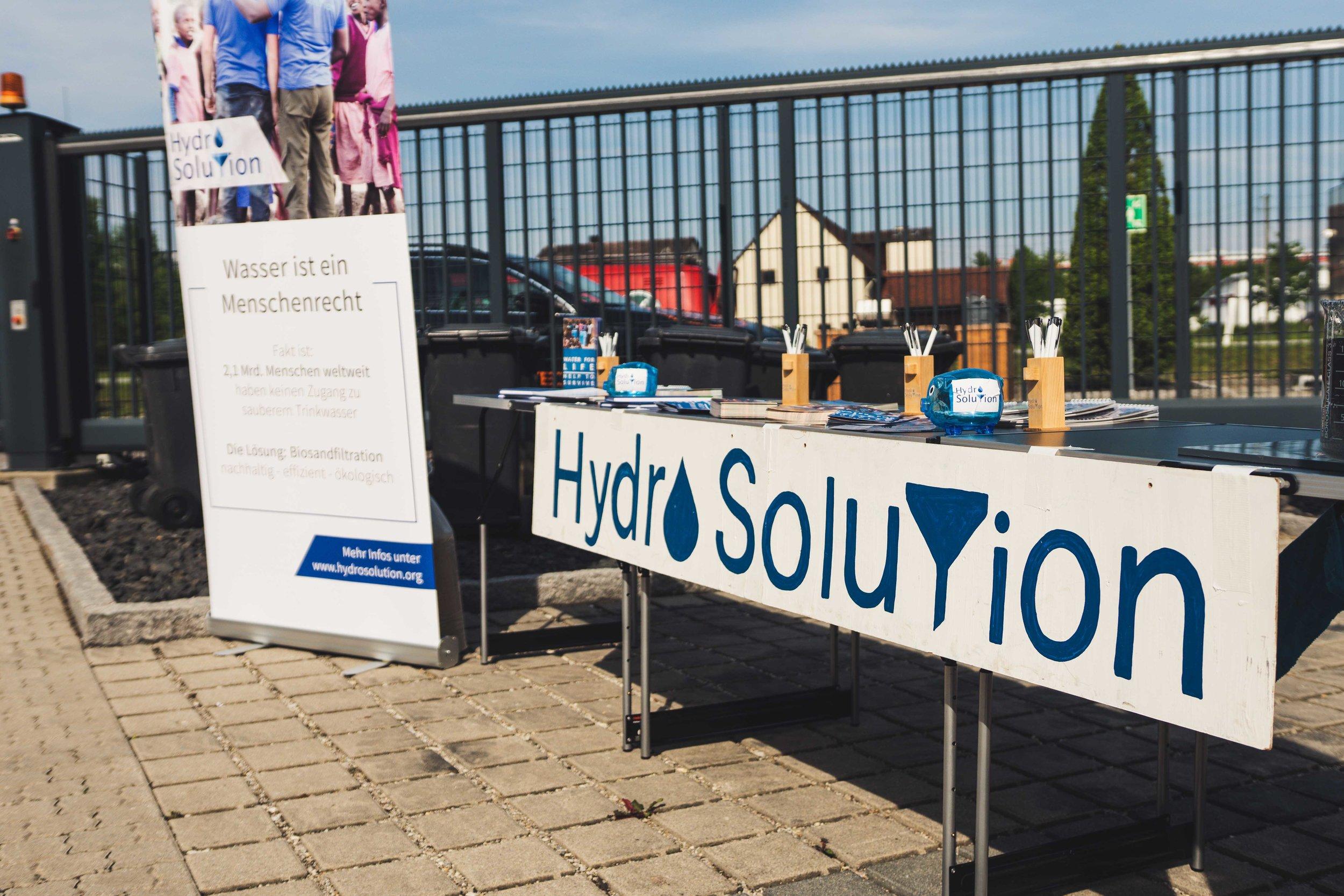 - 25.05.2019 Hydro Solution auf der Eröffnung der Haix World in Mainburg