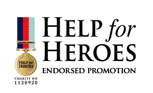 - £4 from the rental price of each kilt will be contributed to Help for Heroes Trading Ltd., which Gift Aids all its taxable profits to Help for Heroes.(Registered Charity Number 1120920).
