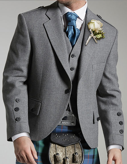 Light Grey Tweed