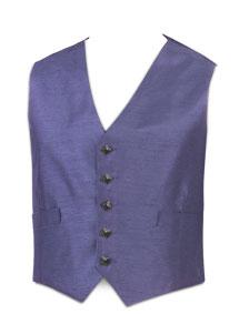 5-Button Grape Waistcoat (Dark Button)