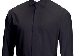 Black Shirt Victorian Collar