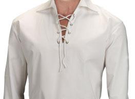 White Ghillie Shirt