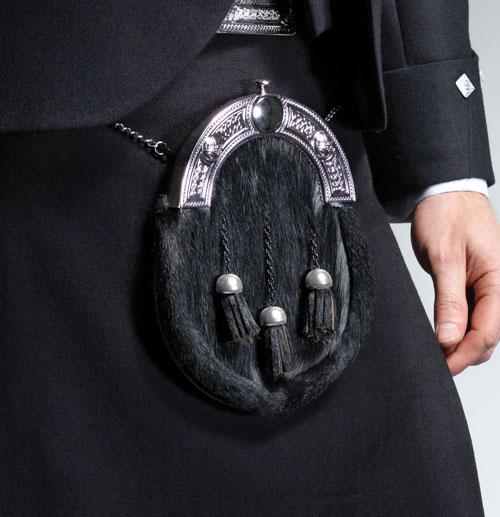Black Dress Sporran