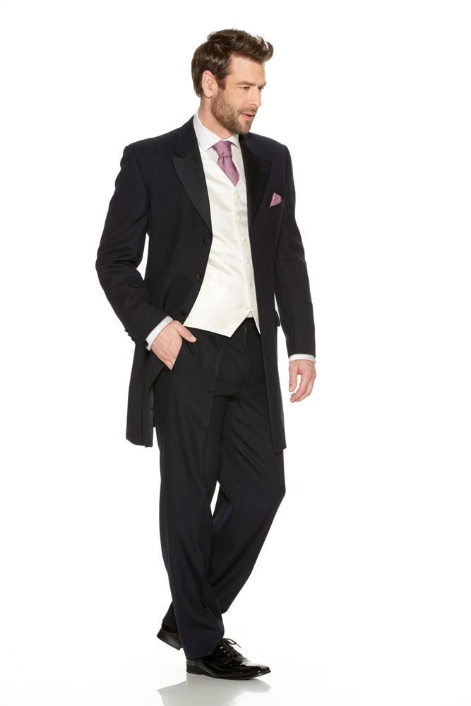 Navy Prince Edward Suit