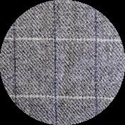Grey Check Tweed