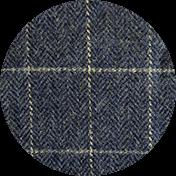 Blue Check Tweed