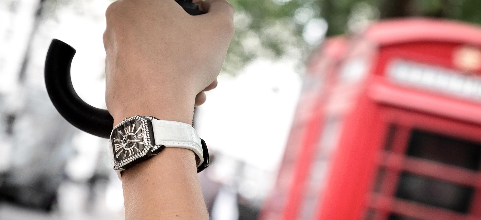 Berkeley diamond knight wristwatch