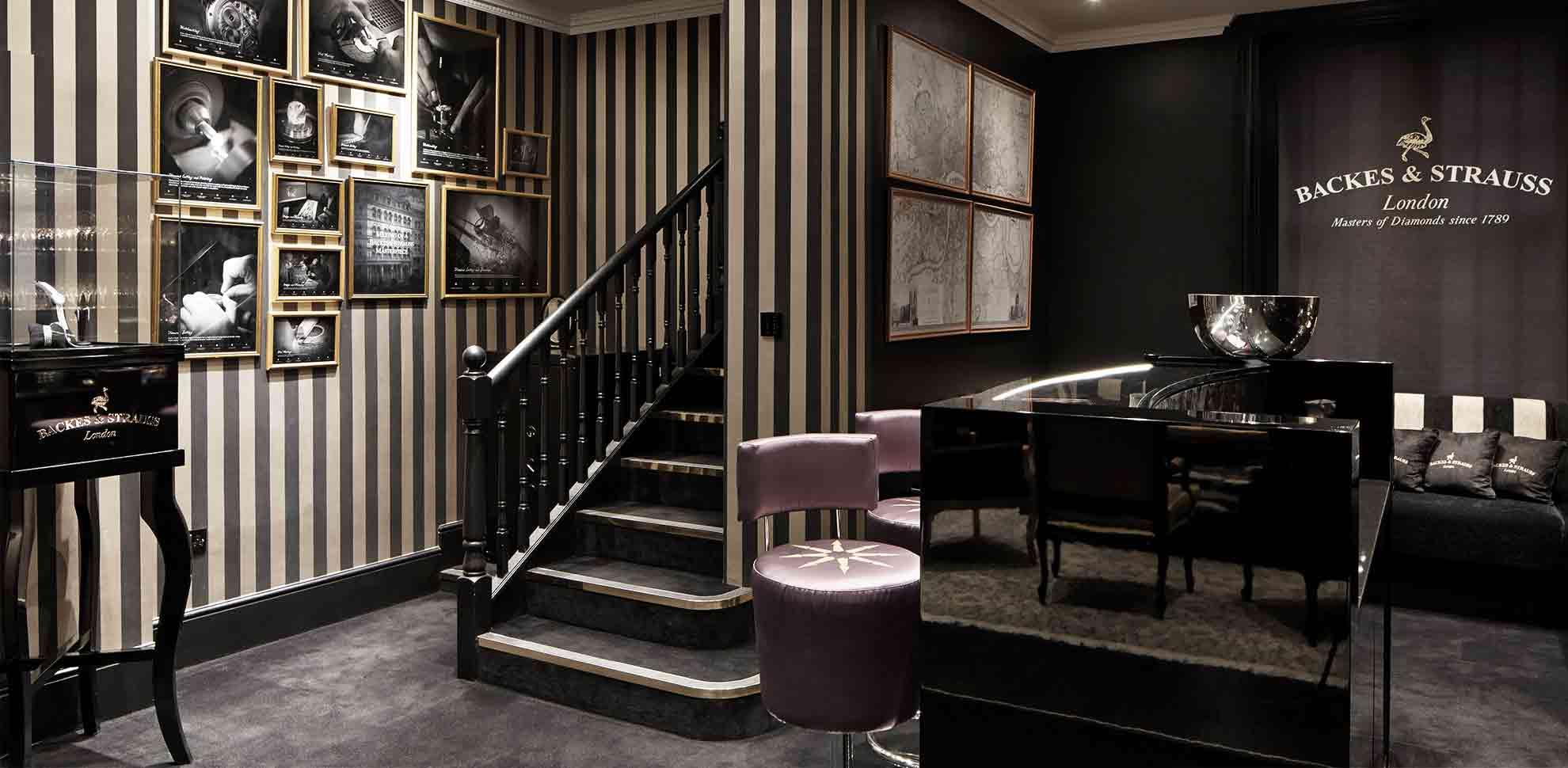 Backes & Strauss London lounge