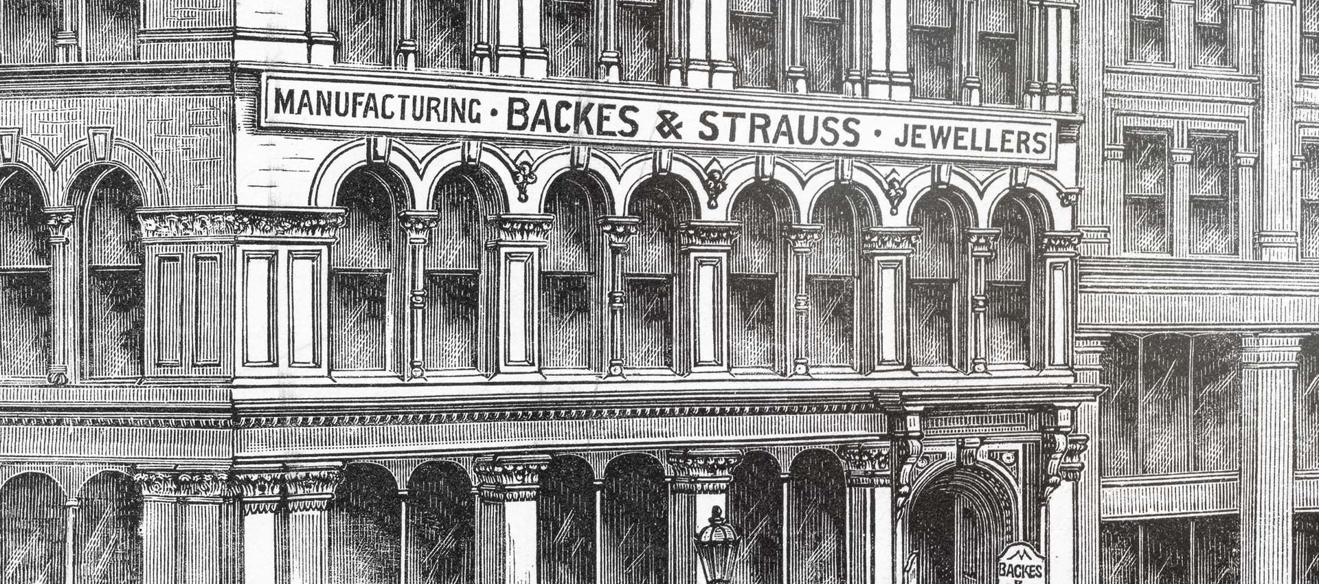 History of Backes & Strauss in craftsmanship and diamond making