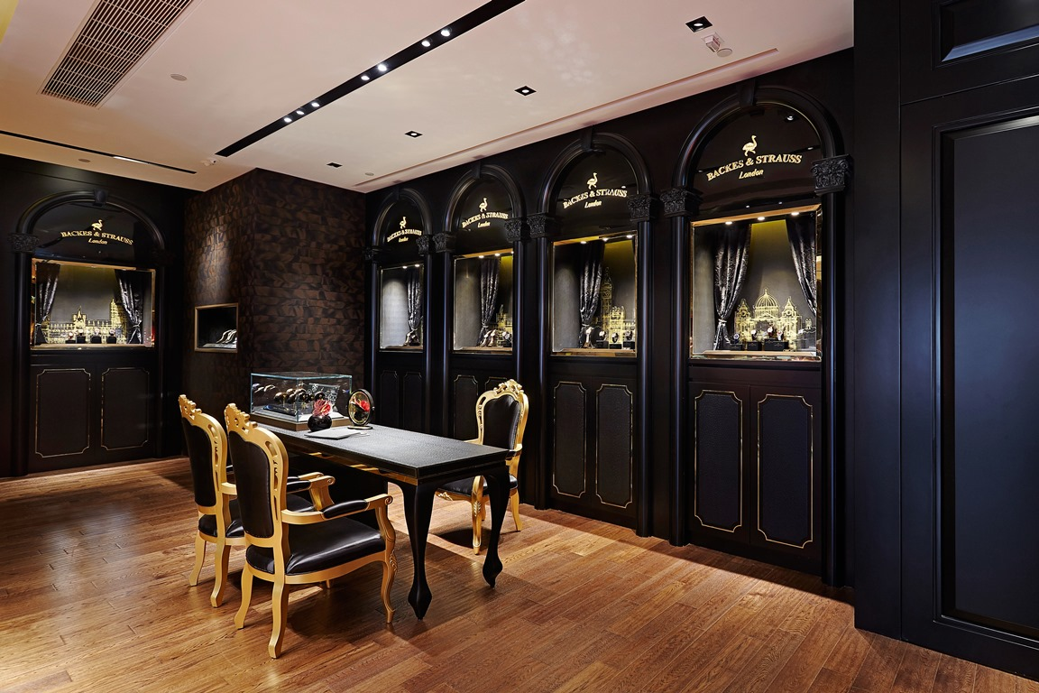 Backes & Strauss diamond watch boutique in Hong Kong