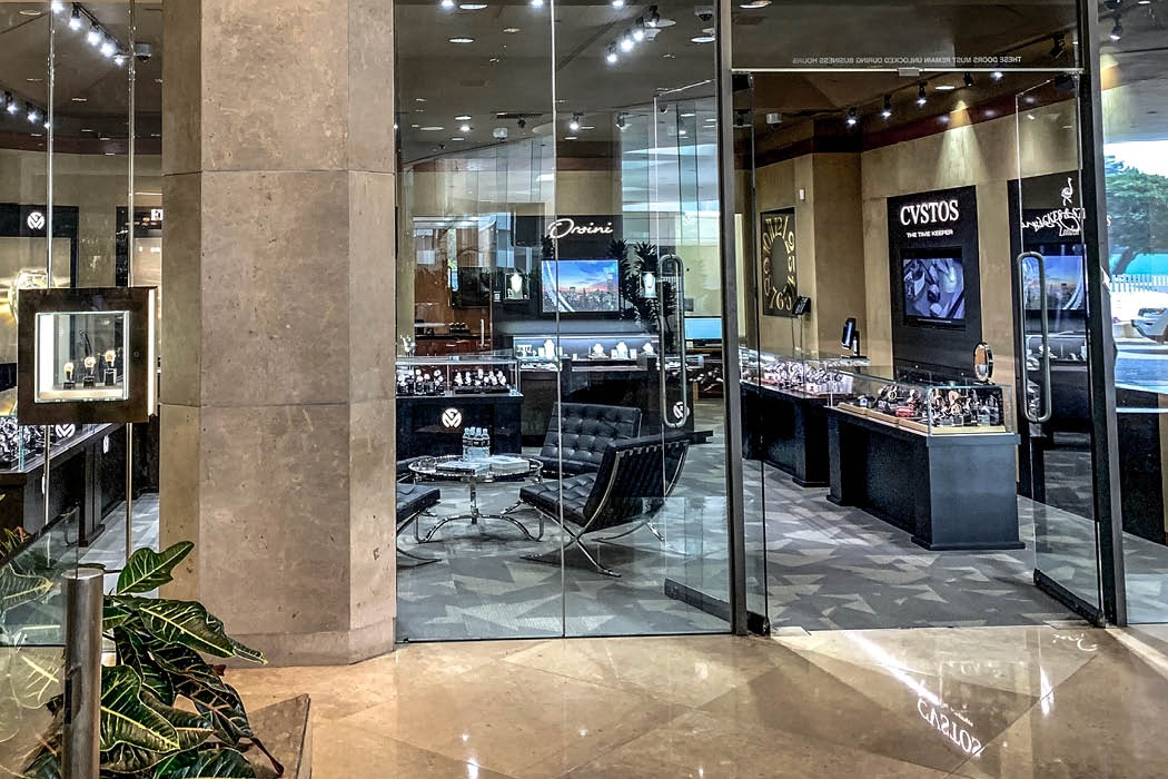 Backes & Strauss diamond watches retailer in Beverly Hills, USA
