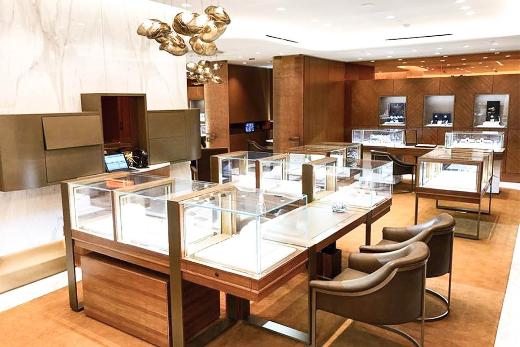 Backes & Strauss Luxury watch boutique in Kuwait