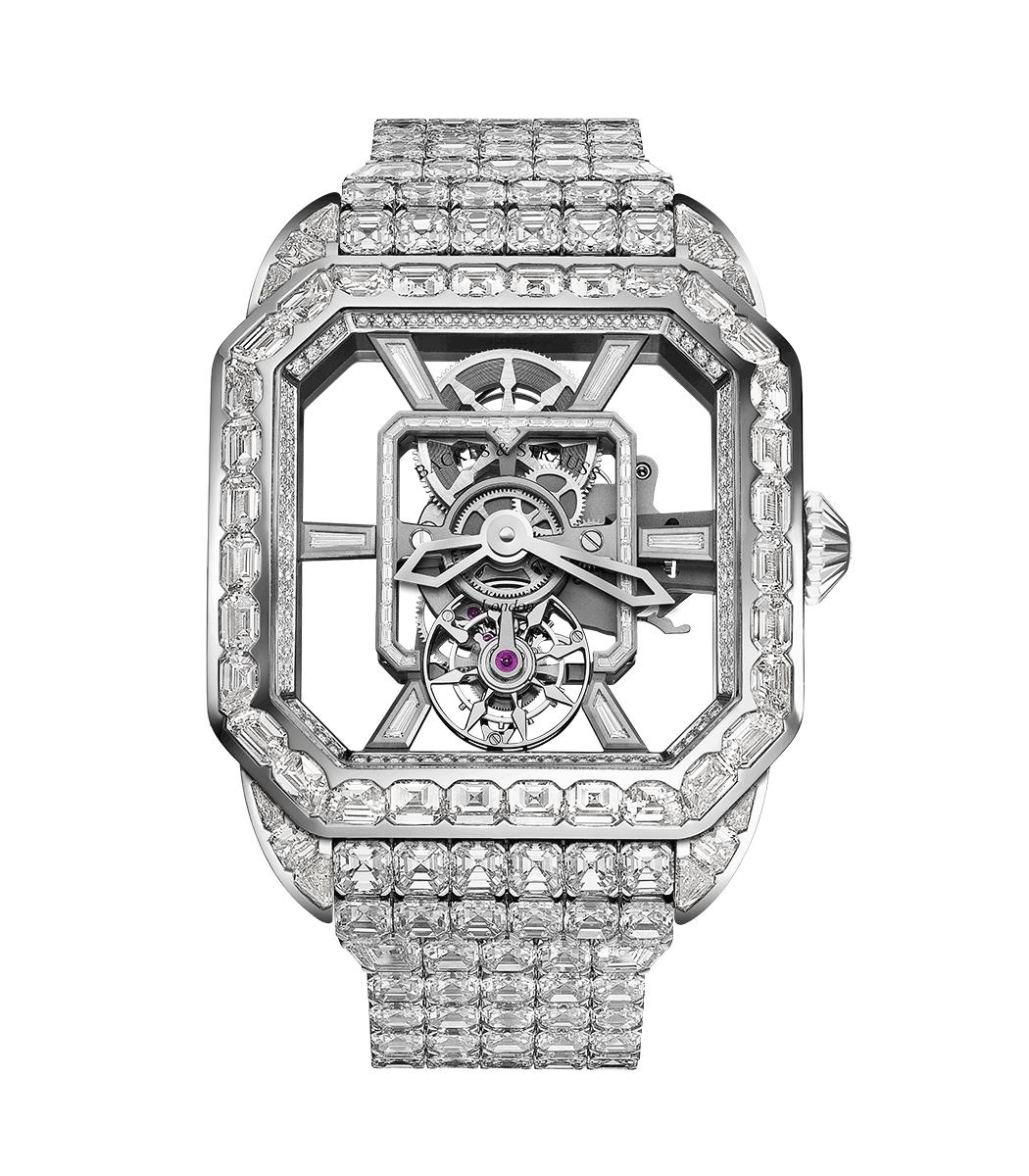 Royal Berkeley Emperor Tourbillon diamond watch