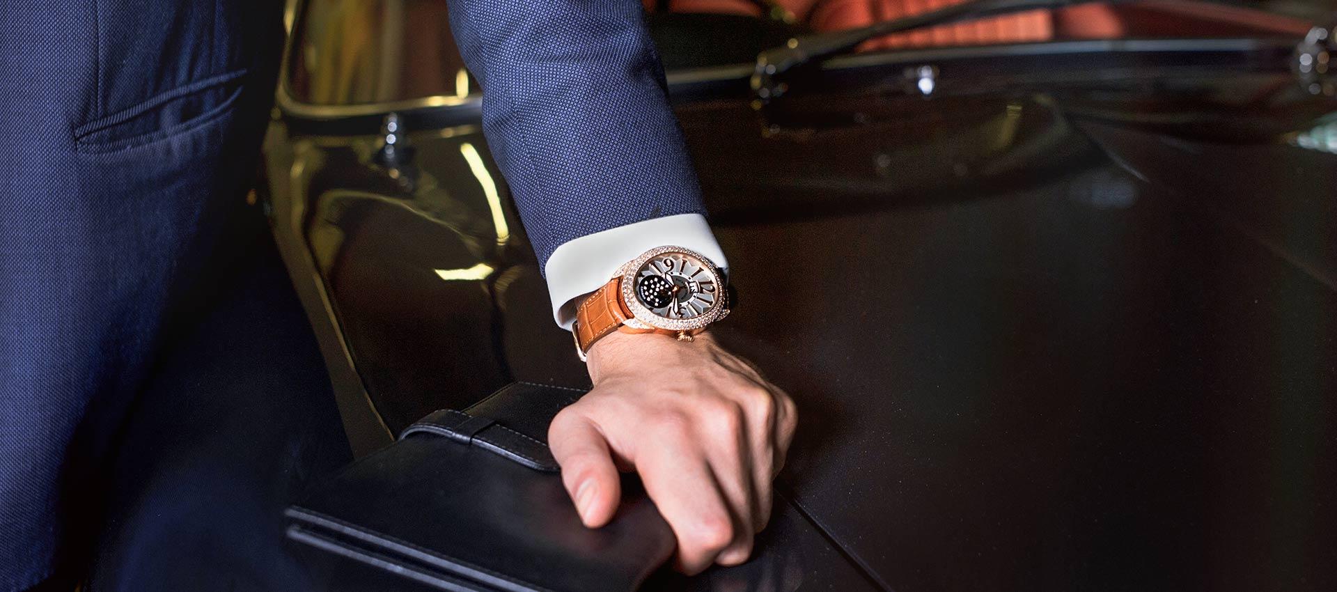 REGENT 1609 AD 4047 limited edition diamond wristwatch