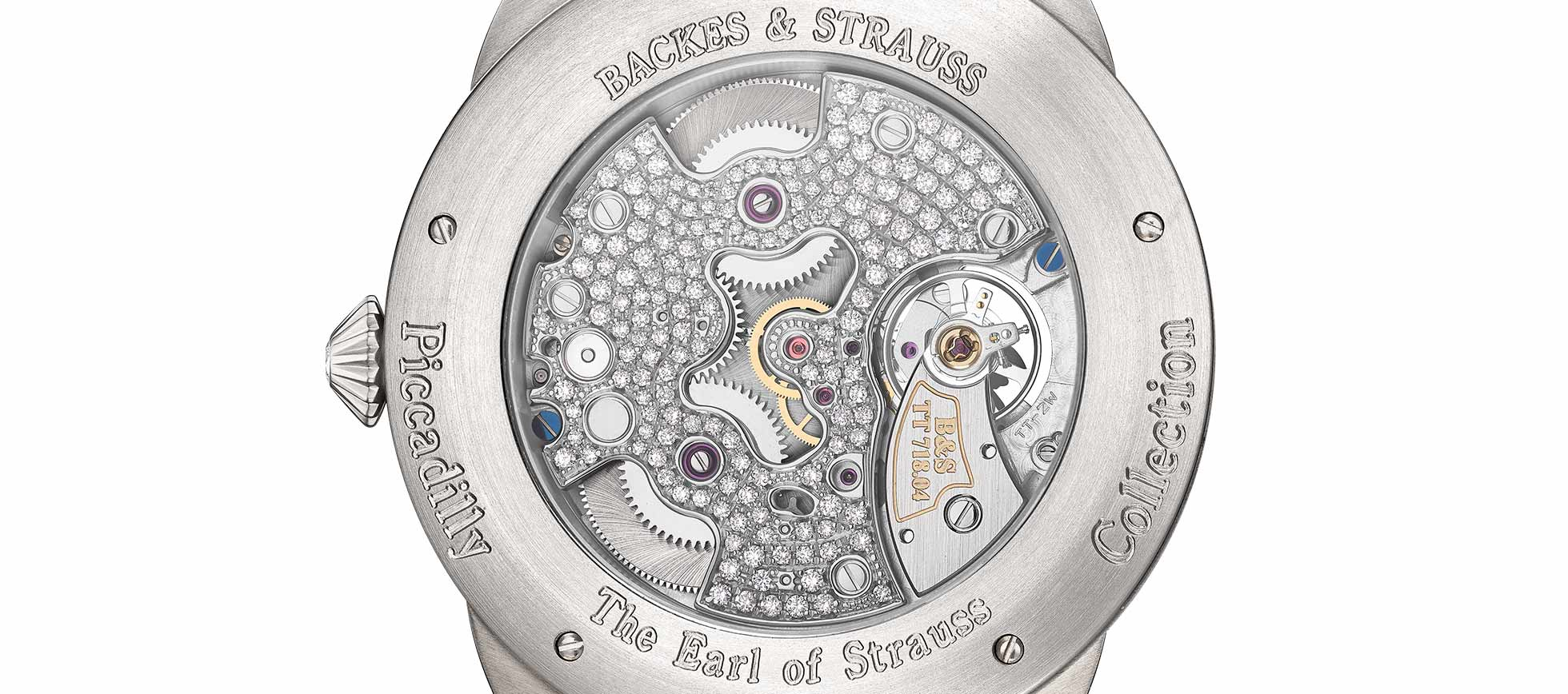 Earl of Strauss Brilliant limited edition wristwatch for him and her