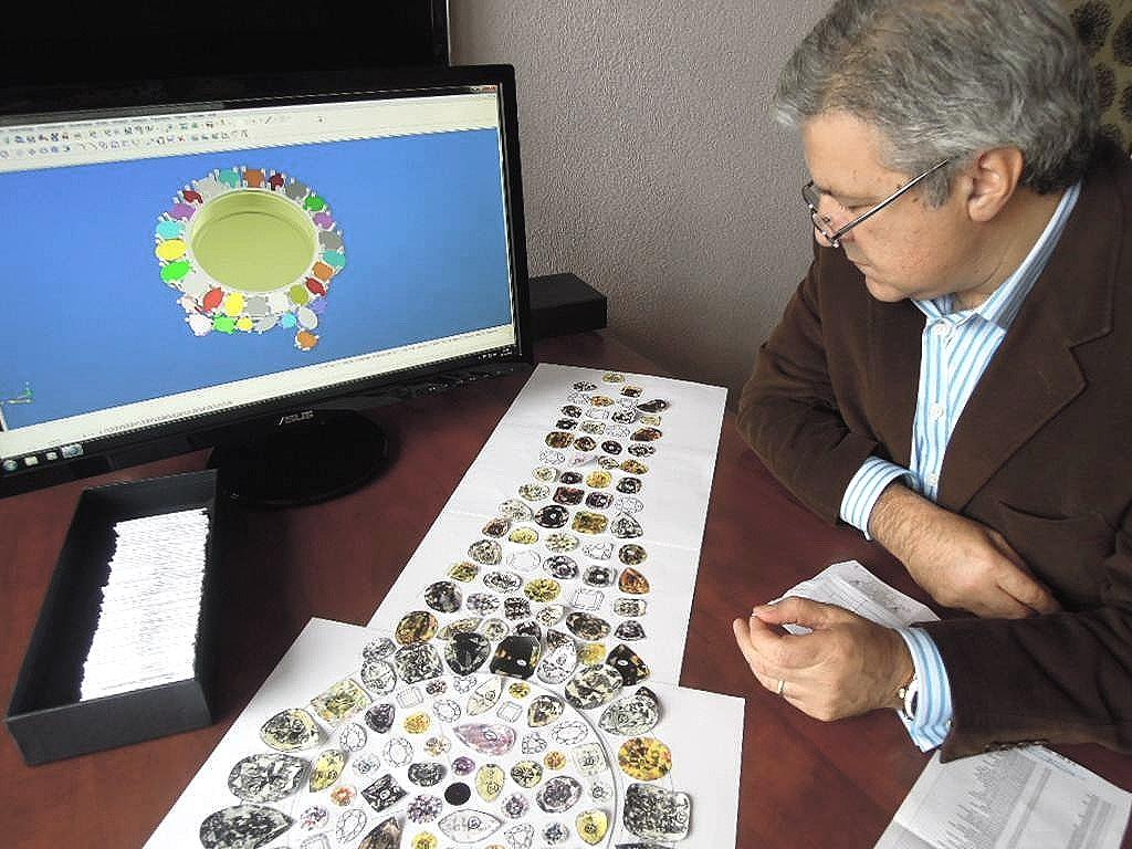 Vartkess Knadjian diamond checking