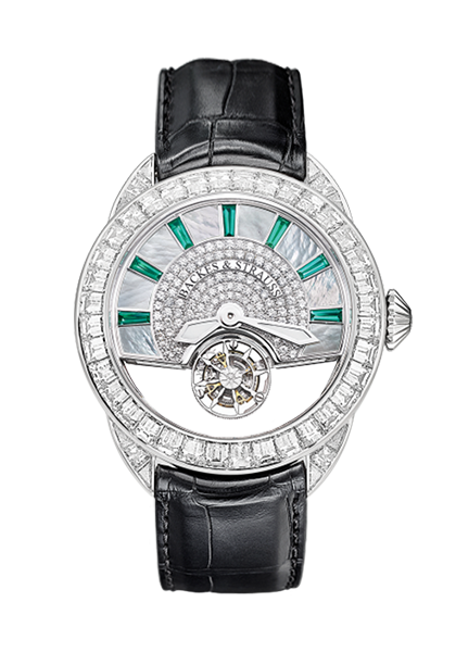 Piccadilly 45 King Tourbillon iconic diamond encrusted watch